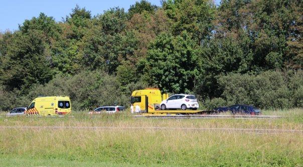 Ongeval met letsel op A58 Rilland.