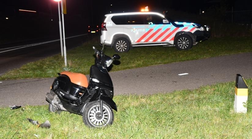 Man gewond bij ongeluk in Middelburg.