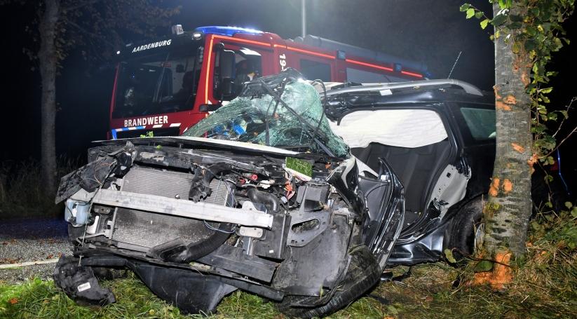 Zwaargewonde bij eenzijdig ongeluk Aardenburg.