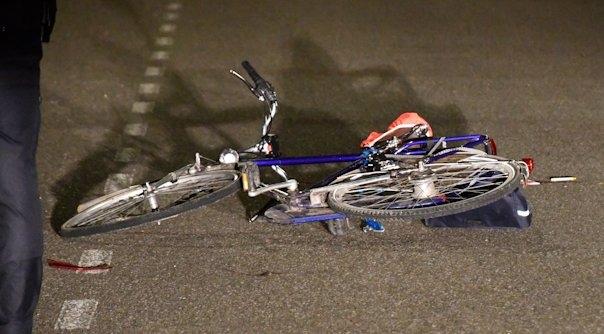 Fietser ongeluk Middelburg overleden.