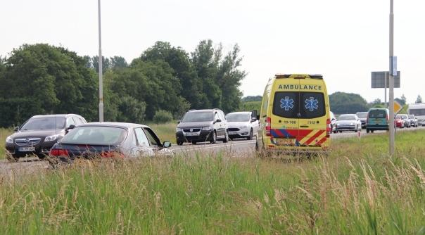 Vrouw gewond na ongeval bij Serooskerke.