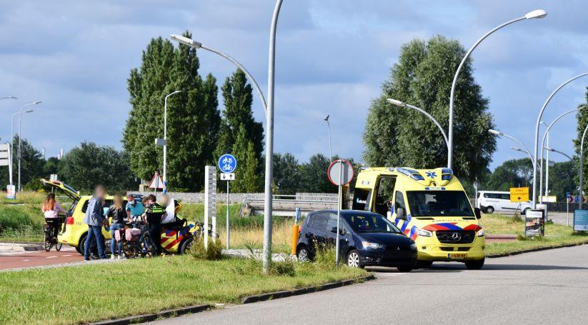 Meisje gewond bij ongeluk Middelburg.