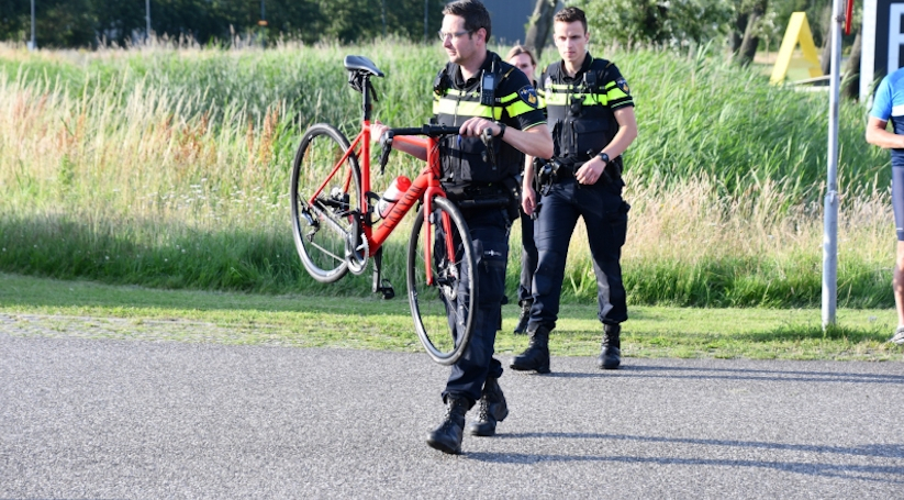 Wielrenner gewond bij botsing Vlissingen.