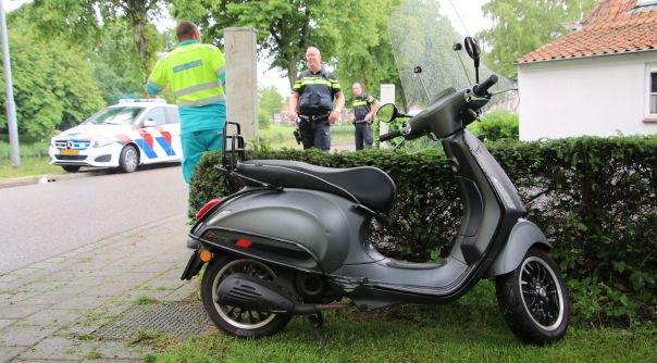 Meisje gewond bij scooterongeluk Middelburg.