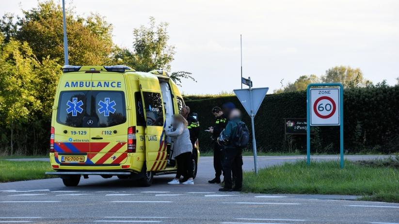 Fietsster gewond bij ongeluk in Ritthem.