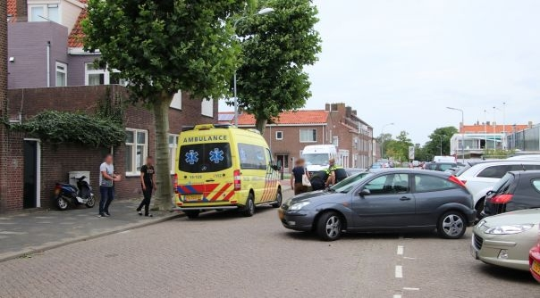 Letsel bij botsing auto-scooter Vlissingen.