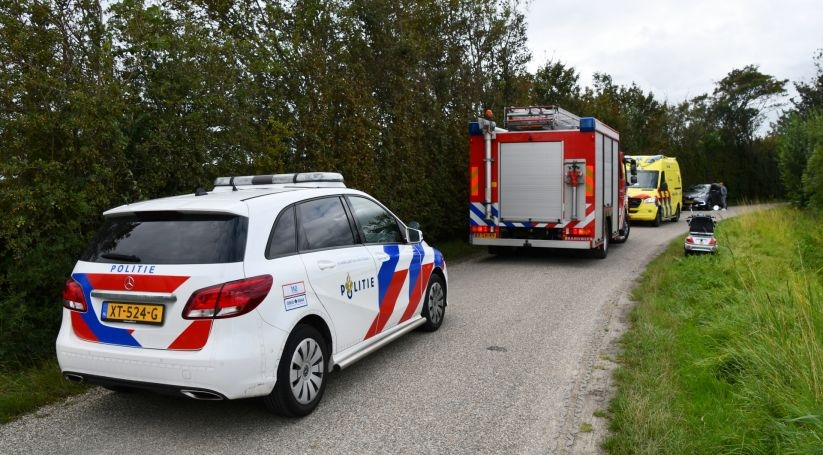 Letsel bij ongeluk Groeneweg Vlissingen.
