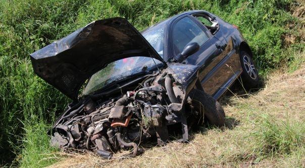 Gewonde bij auto-ongeluk in Eede.