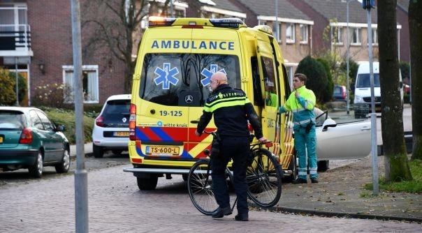 Gewonde bij ongeluk Breeweg Middelburg.
