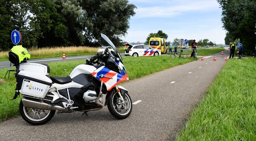 Letsel bij ongeluk op fietspad in Terneuzen.