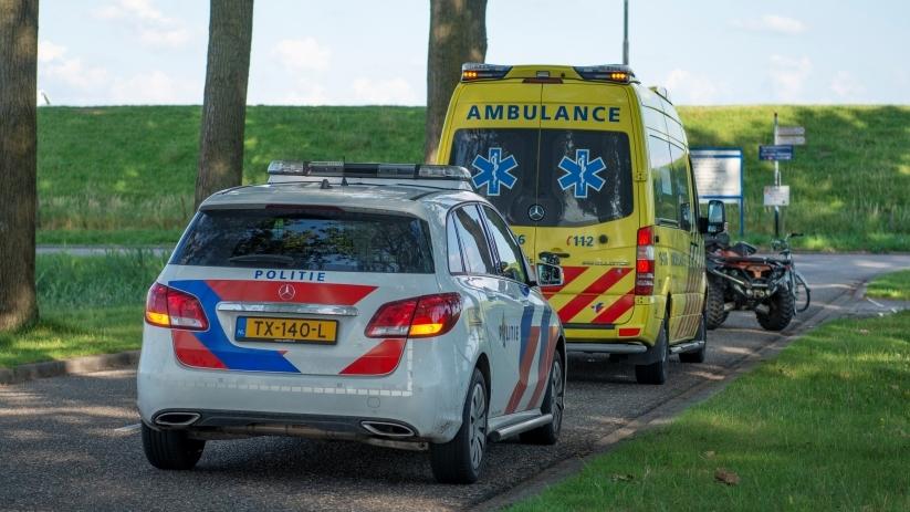 Gewonde bij ongeval met quad Tholen.
