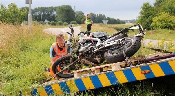 Motor dodelijk ongeluk Kortgene geborgen.