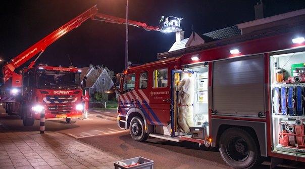 Schoorsteenbrand Stoofstraat #Poortvliet:.