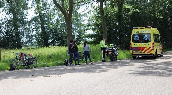 Gewonde bij ongeluk Middelburg.