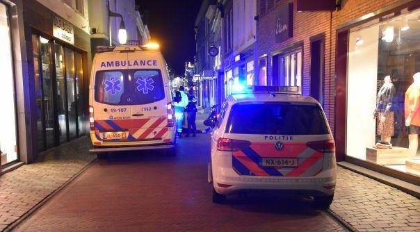 Fietser gewond bij botsing in Goes.