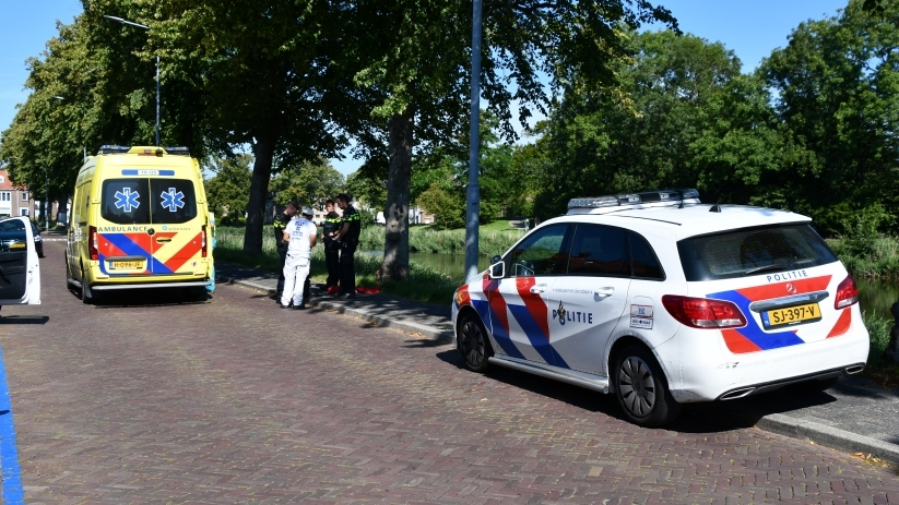 Wielrenner gewond bij ongeluk Middelburg.