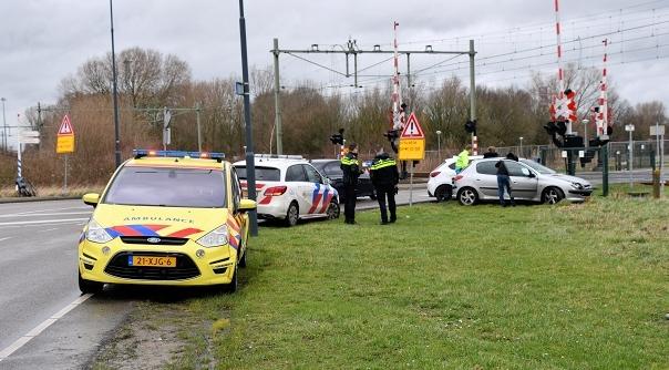 Botsing Oude Veerhavenweg Vlissingen.