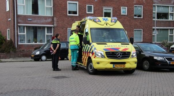 Gewonde bij botsing in Vlissingen.