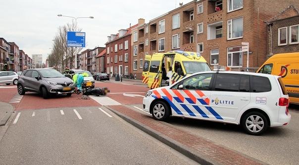 Gewonde bij ongeval in Vlissingen.