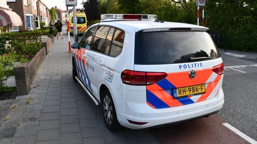 Wielrenner gewond bij ongeluk Arnemuiden.