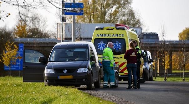 Gewonde bij ongeluk Oostdijk.