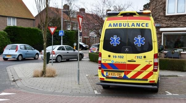 Gewonde bij ongeluk op kruising Middelburg.