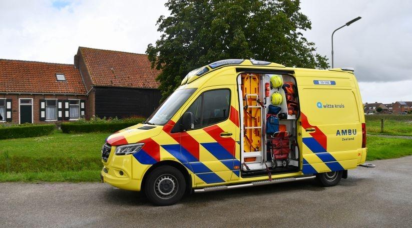 Snorfietser gewond bij ongeluk Scherpenisse.