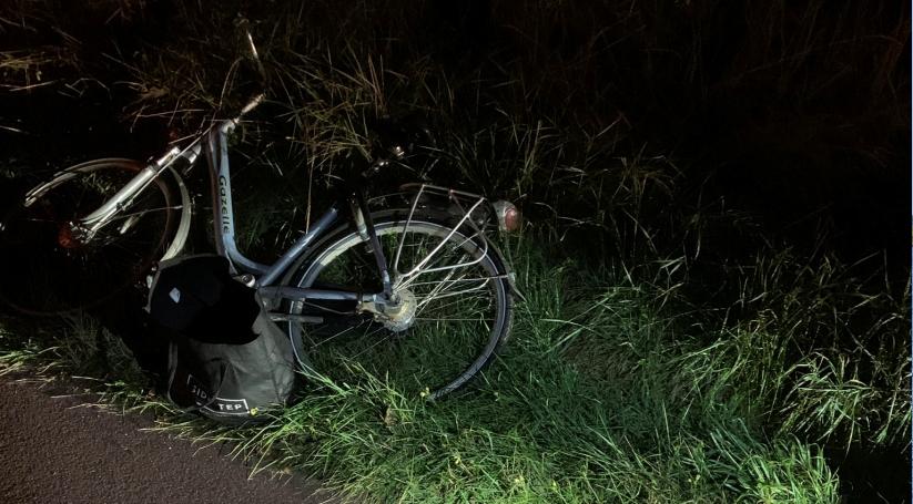 Voetganger naar het ziekenhuis na botsing met fietser.