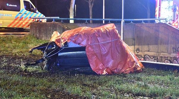 Dode en gewonde bij ernstig ongeluk Vlissingen.