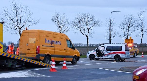 Gewonden bij ongeluk Broekseweg Tholen.