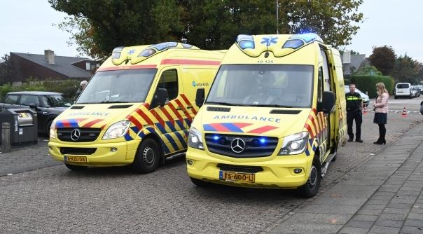 Twee gewonden bij ongeval met snorfiets.