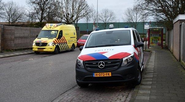 Gewonde bij aanrijding in Middelburg.