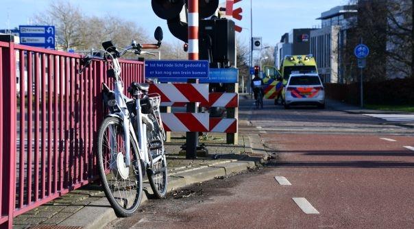 Vrouw gewond bij fietsongeval Middelburg.