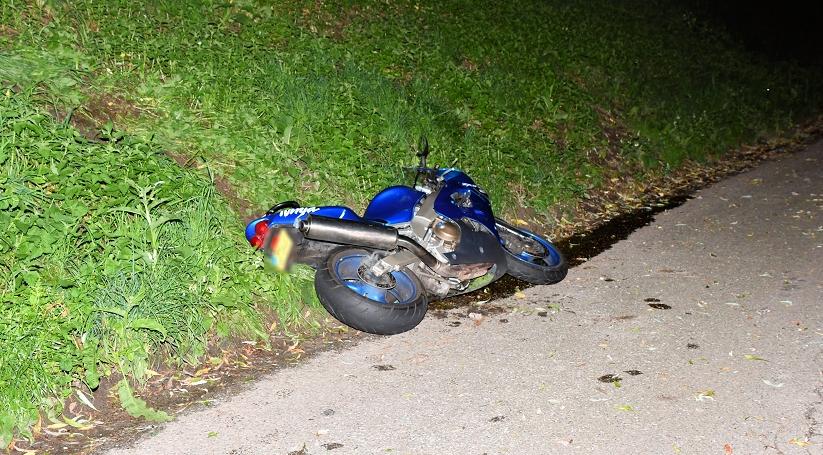 Motorrijder gewond na ongeluk bij Oud-Vossemeer.