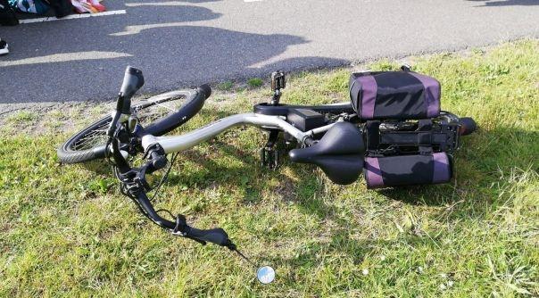 Fietser gewond bij ongeluk Bruinisse.