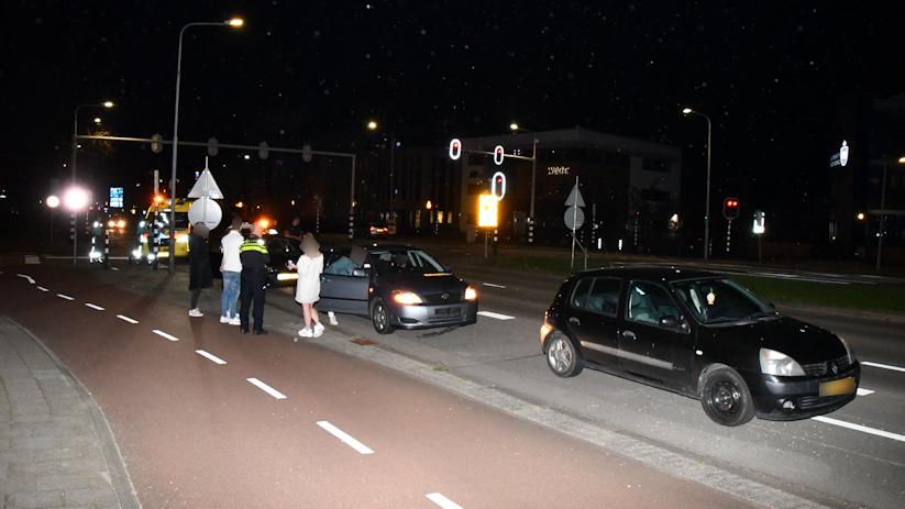 Kop-staartbotsing in Middelburg.