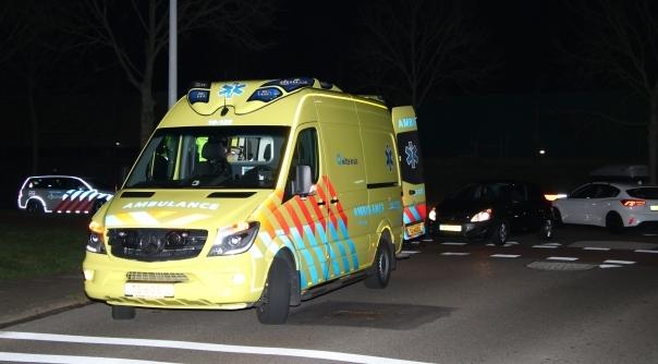 Gewonde bij ongeval in Middelburg.