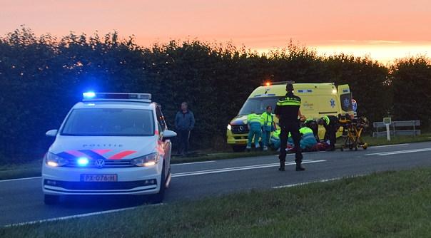 Fietser gewond bij ongeluk Zaamslag.
