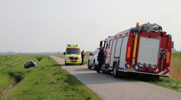 Gewonde bij ongeluk Serooskerke.