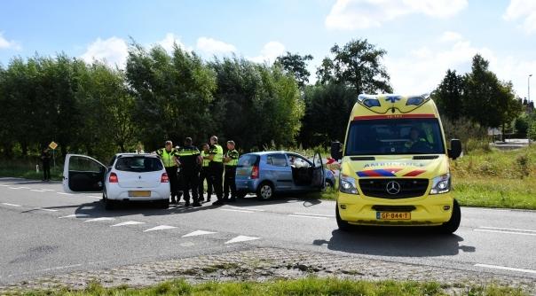 Gewonden bij ongeluk in Kapelle.