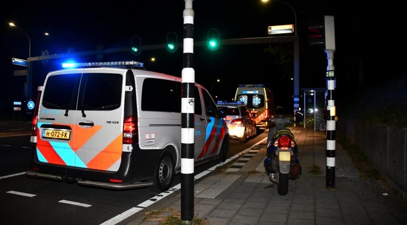 Eenzijdig ongeluk op jaagpad Vlissingen.