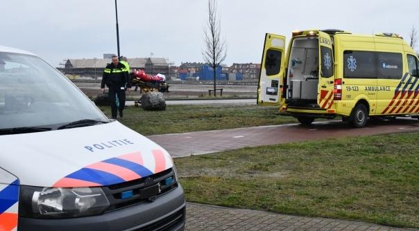 Man gewond bij eenzijdig ongeluk Vlissingen.