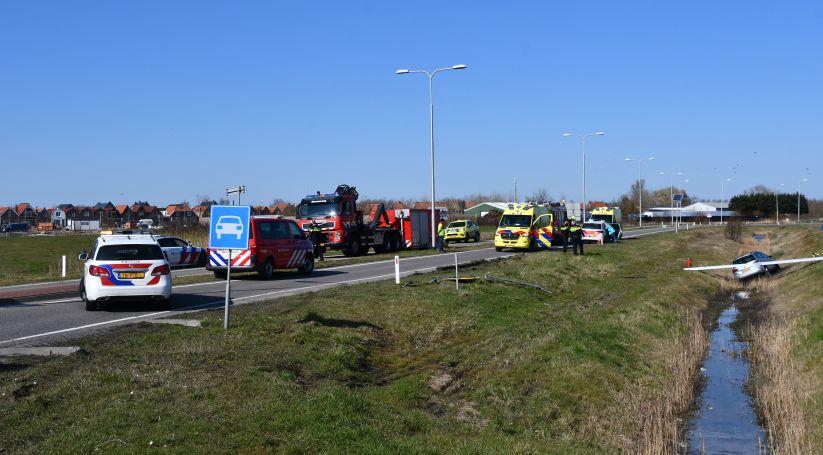 Man overleden na ongeluk Middelburg.
