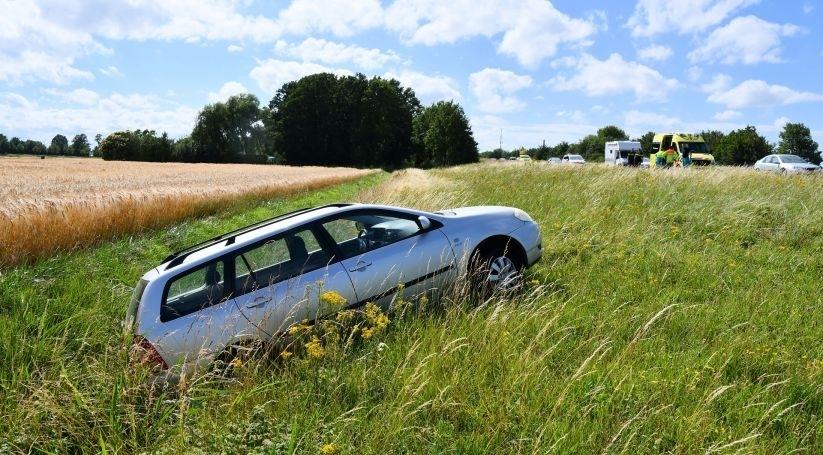 Gewonde bij ongeluk A58 Lewedorp.