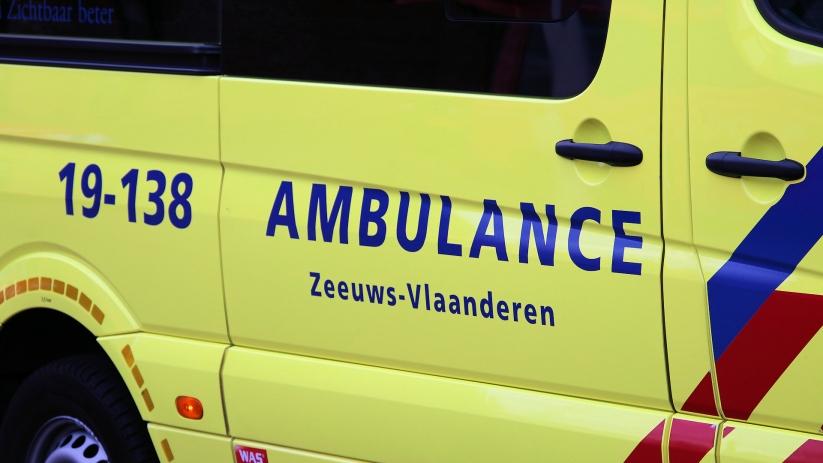 Fietsster gewond bij botsing Terneuzen.