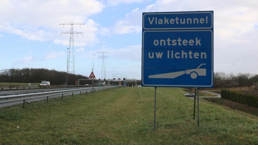 Vlaketunnel drie kwartier dicht na ongeval.