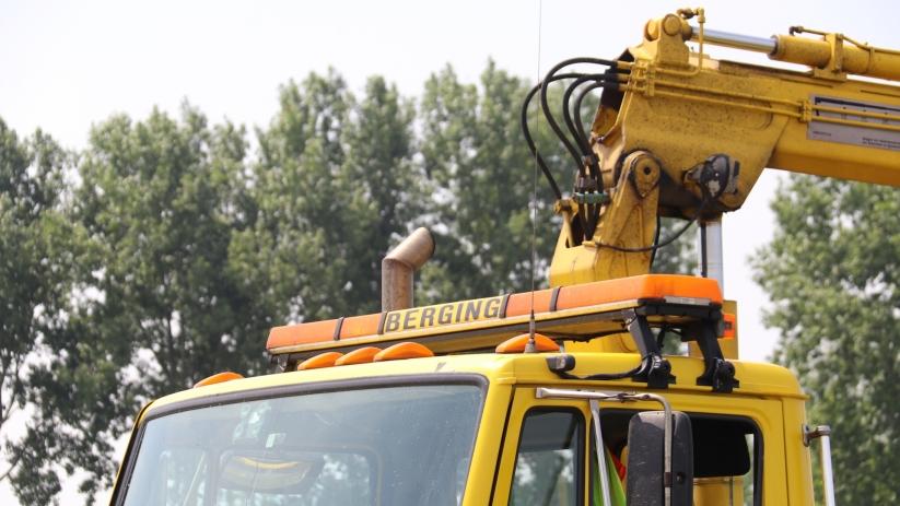 Afslag N57 Middelburg afgesloten na ongeluk.