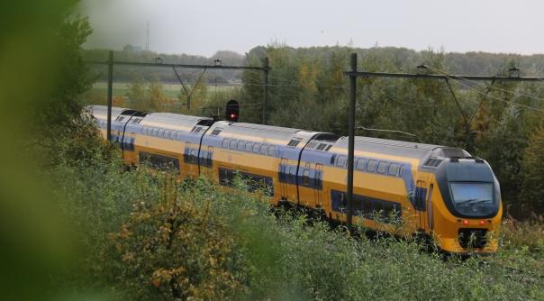 Treinverkeer gestremd na ernstige aanrijding.