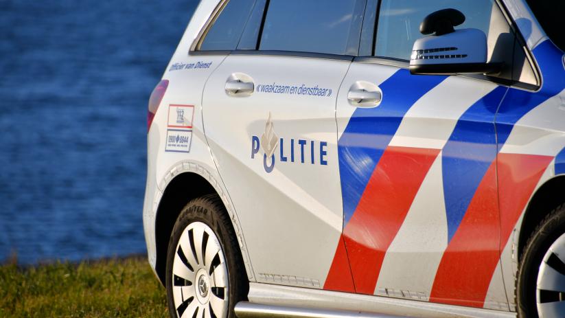 Autos getakeld na aanrijding bij Bruinisse.