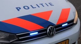 Auto in de sloot Jacobadijk Kamperland